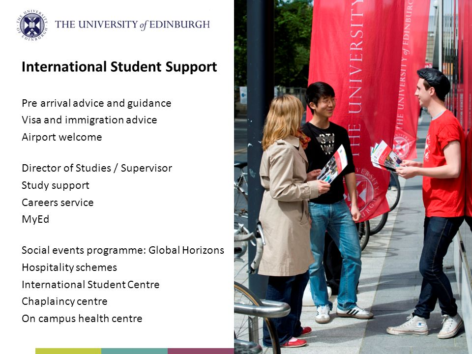 International Student Support