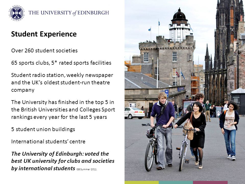 Student Experience Over 260 student societies
