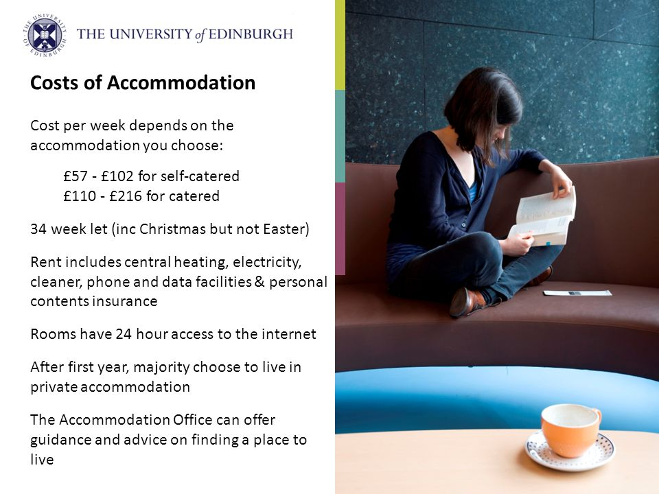 Costs of Accommodation