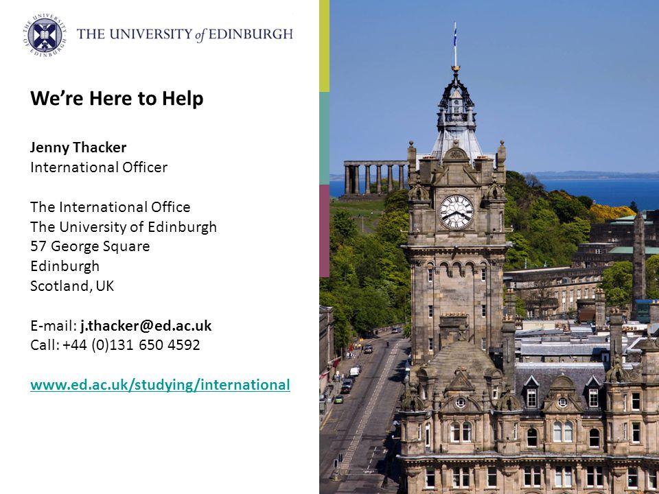 Ppt download - International office university of edinburgh ...