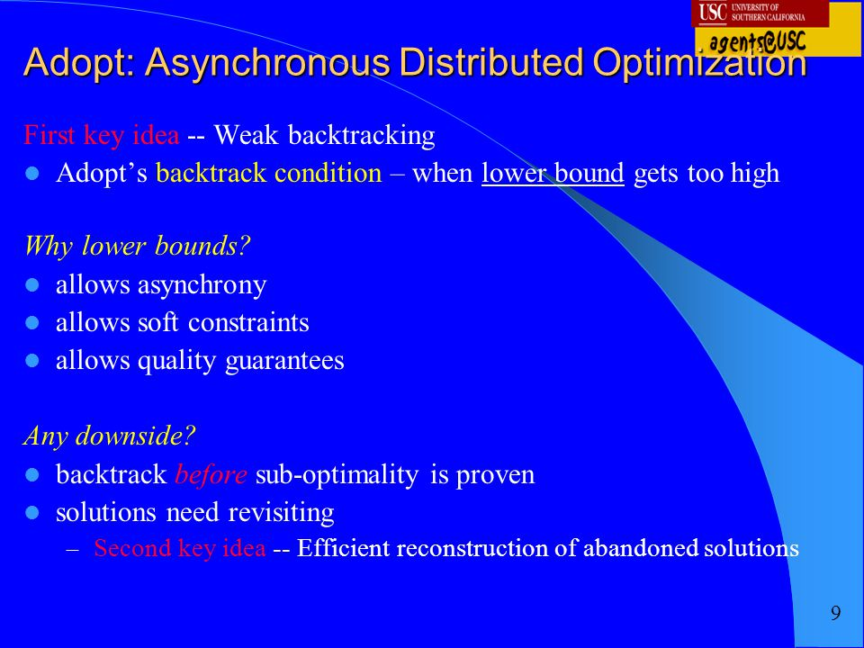 Adopt: Asynchronous Distributed Optimization