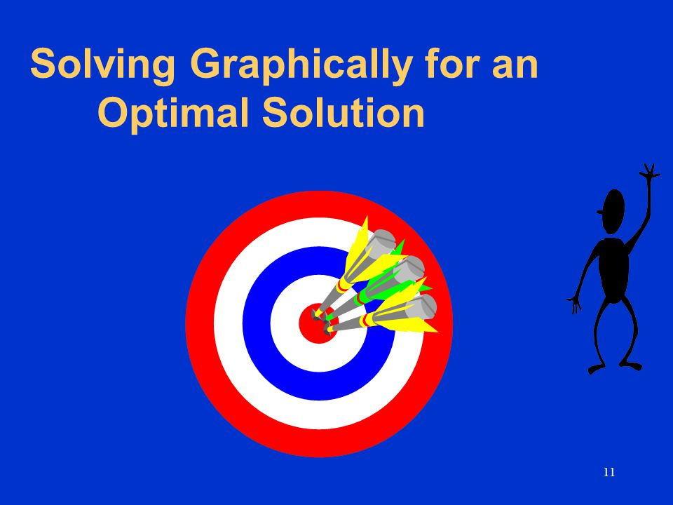 Solving Graphically for an Optimal Solution