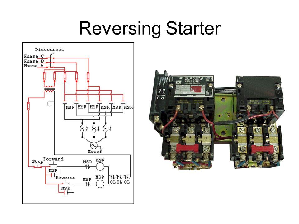 Perfect forward reverse motor starter pattern wiring for Forward reverse motor starter