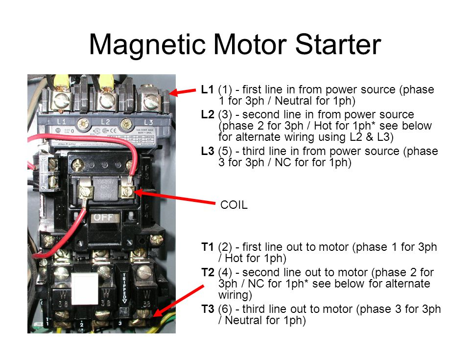 Magnetic+Motor+Starter contactors & relays ppt video online download  at nearapp.co