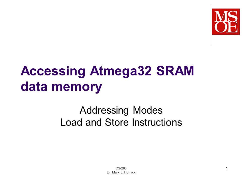 Accessing Atmega32 SRAM data memory