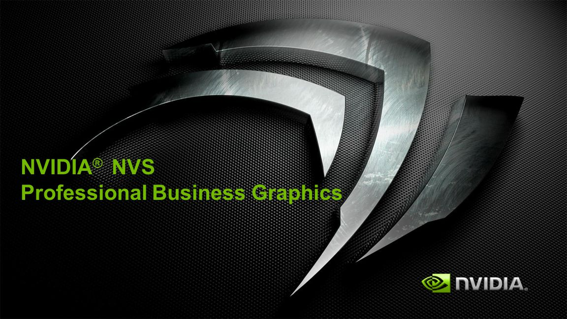 NVIDIA® NVS Professional Business Graphics