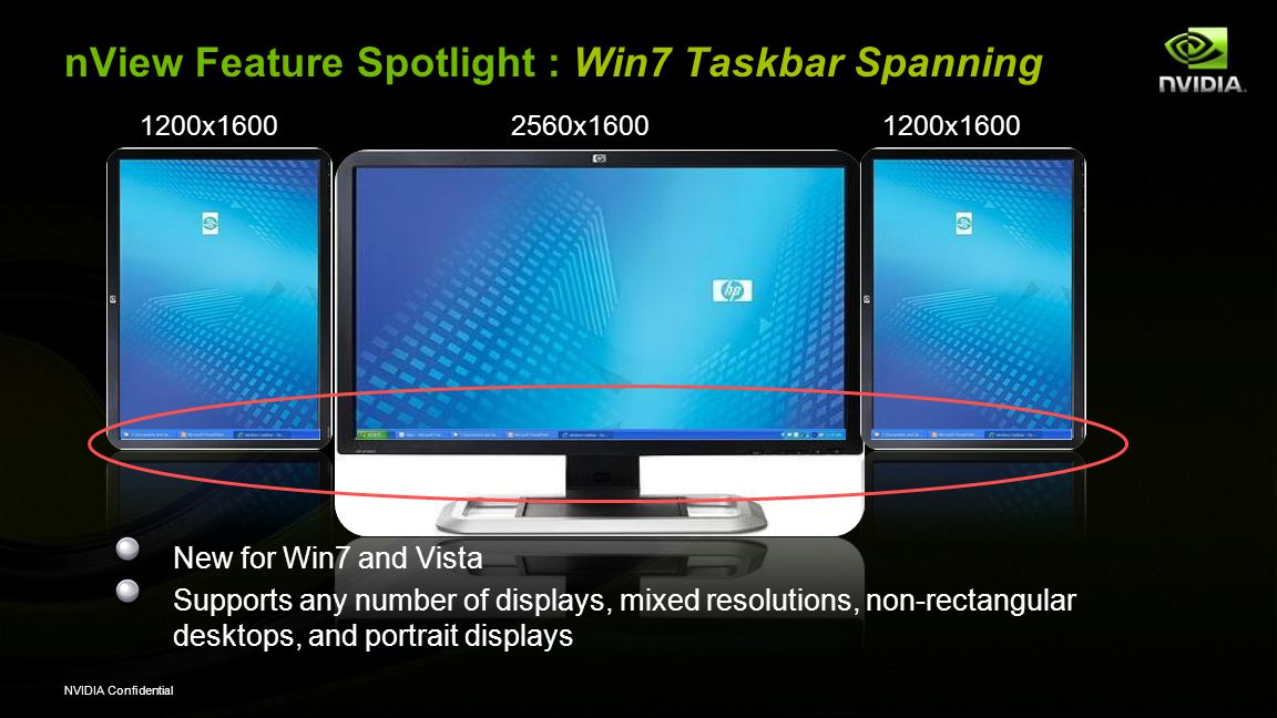 nView Feature Spotlight : Win7 Taskbar Spanning