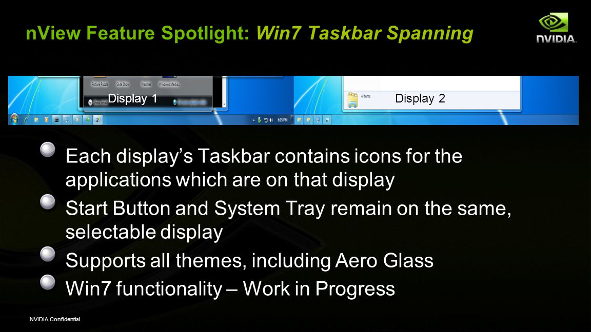 nView Feature Spotlight: Win7 Taskbar Spanning