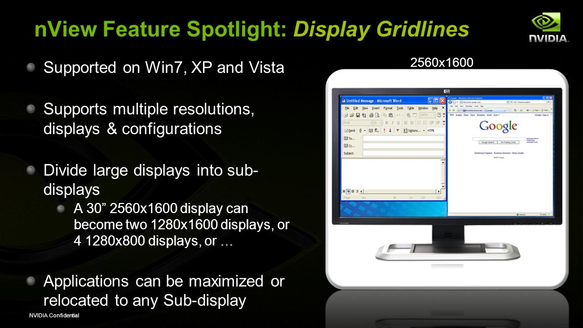 nView Feature Spotlight: Display Gridlines