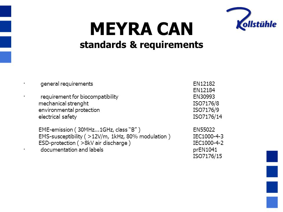 standards & requirements