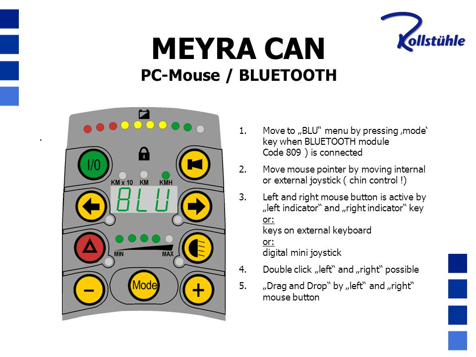 MEYRA CAN PC-Mouse / BLUETOOTH