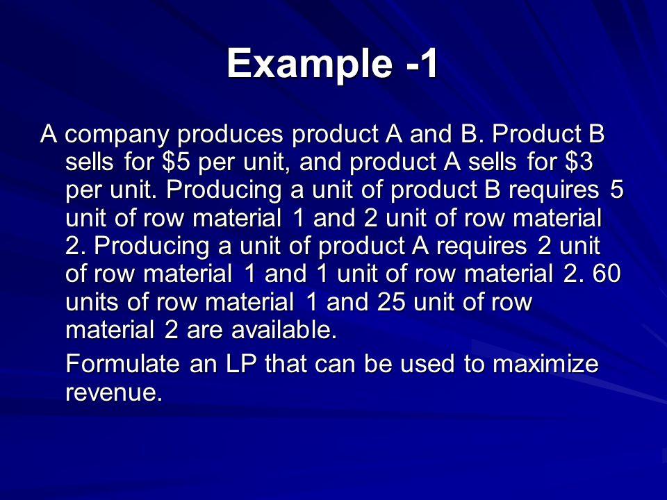 Example -1
