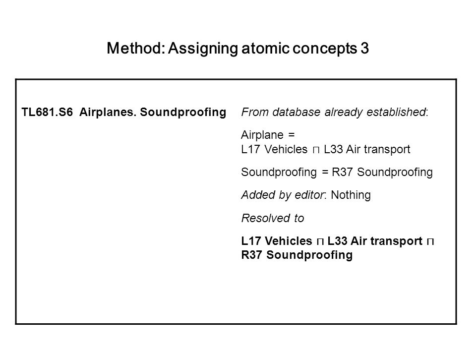 Method: Assigning atomic concepts 3