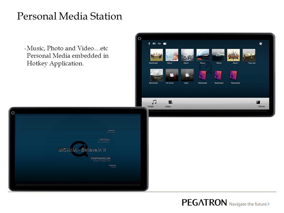 Personal Media Station