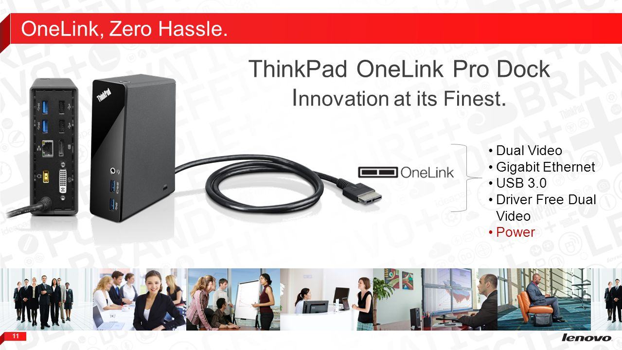 ThinkPad OneLink Pro Dock Innovation at its Finest.