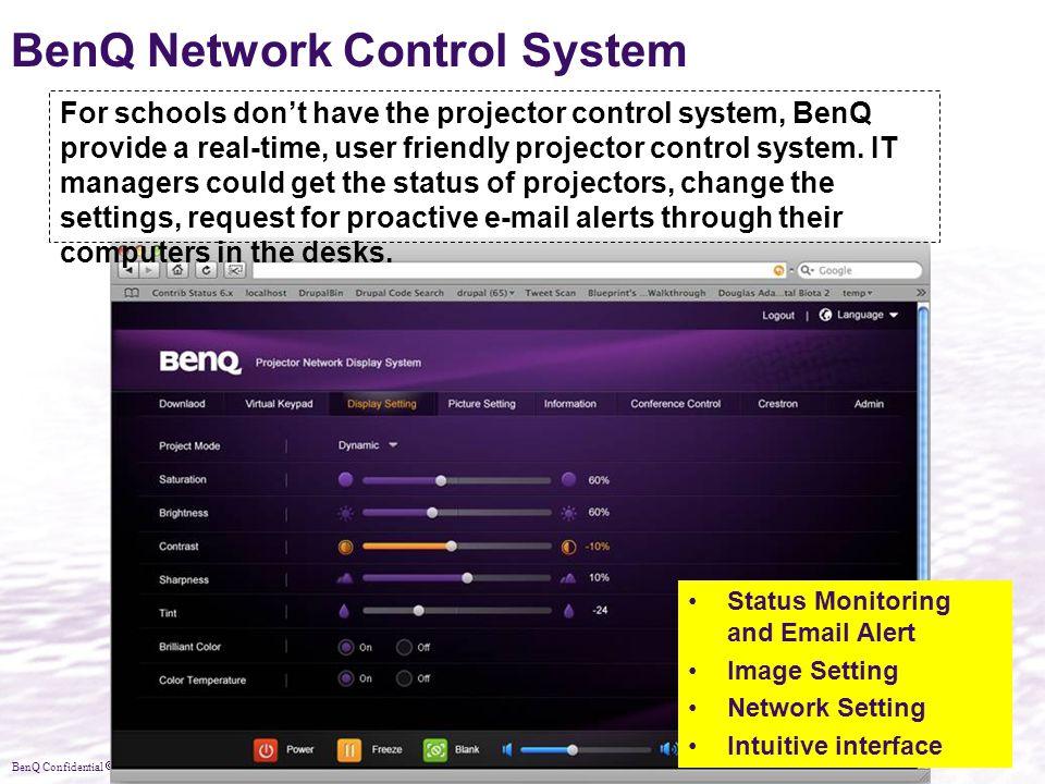 BenQ Network Control System