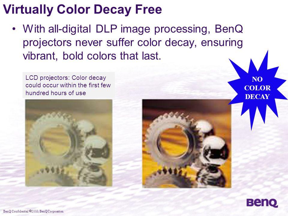Virtually Color Decay Free