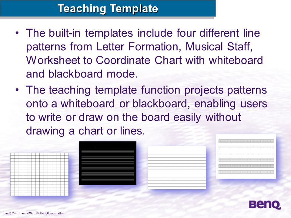 Teaching Template