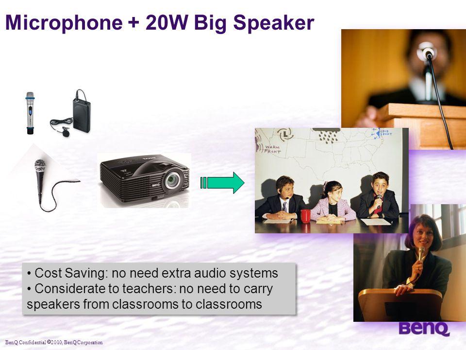 Microphone + 20W Big Speaker