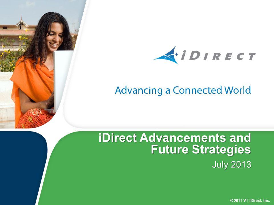 iDirect Advancements and Future Strategies