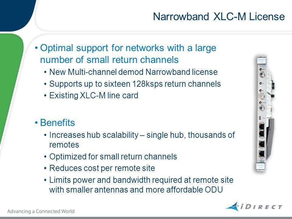 Narrowband XLC-M License