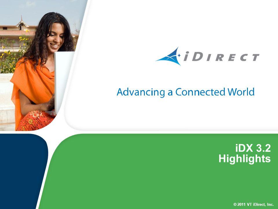 iDX 3.2 Highlights