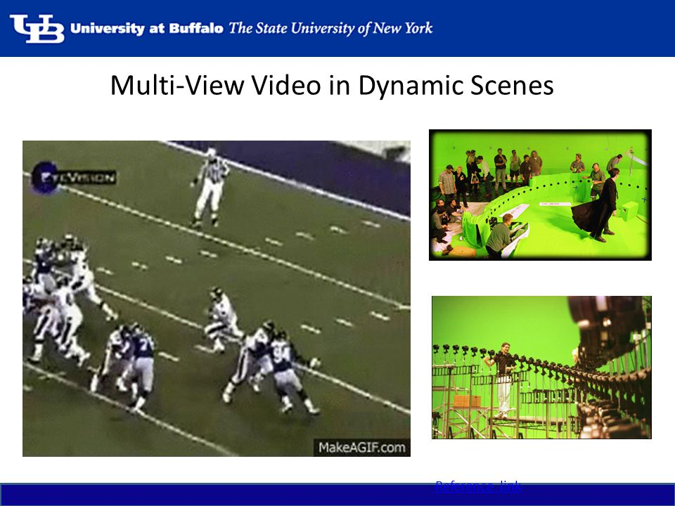Multi-View Video in Dynamic Scenes