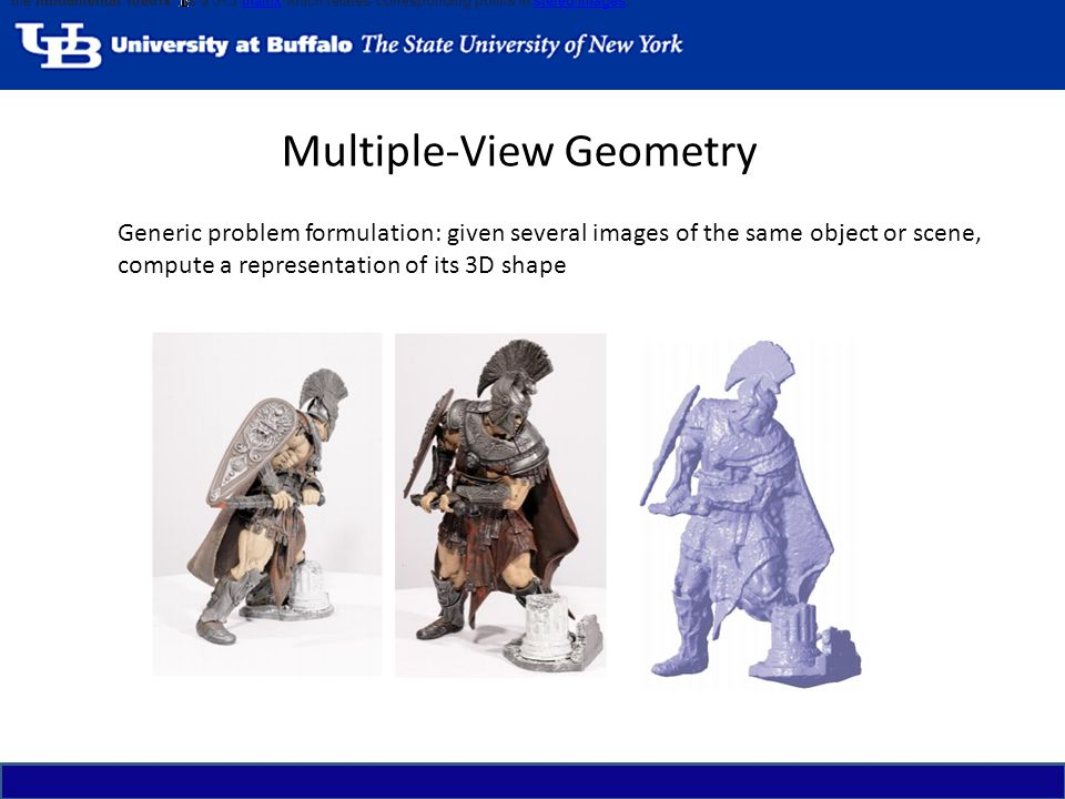 Multiple-View Geometry