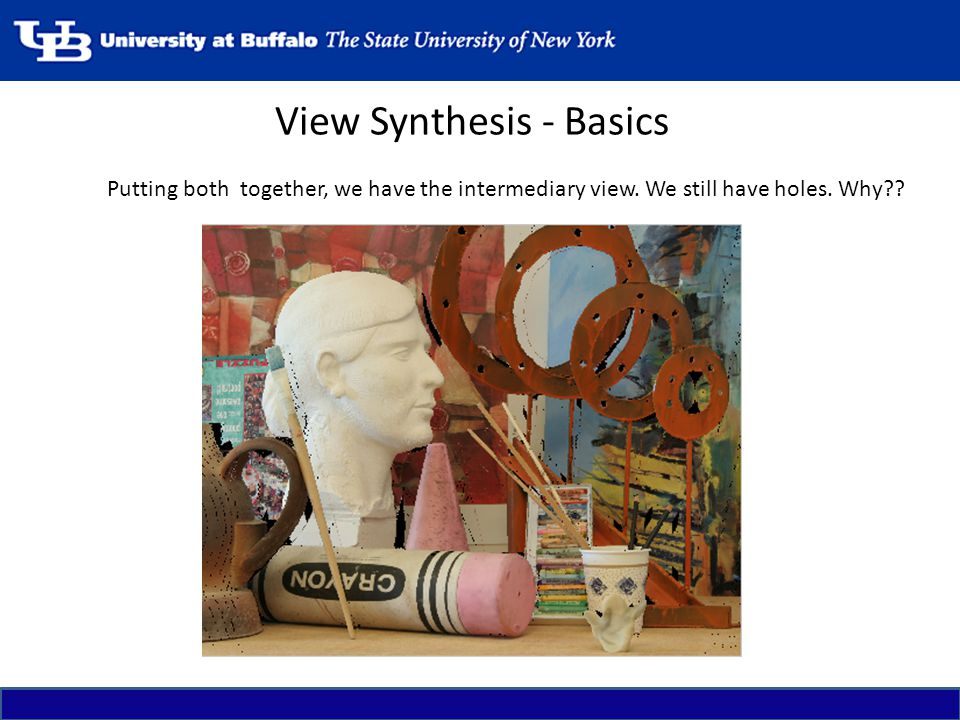 View Synthesis - Basics