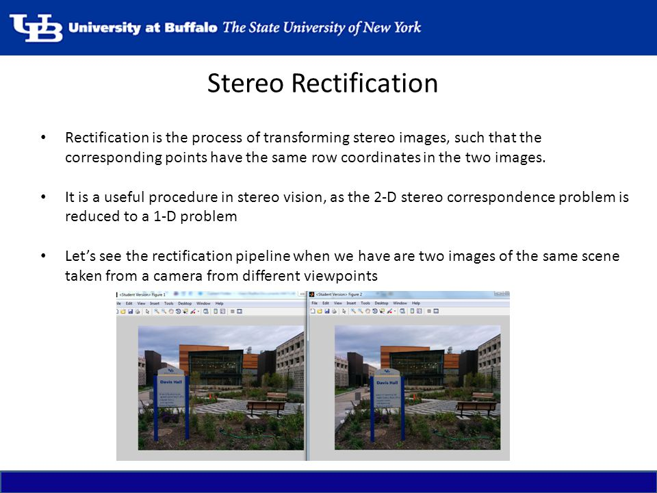 Stereo Rectification