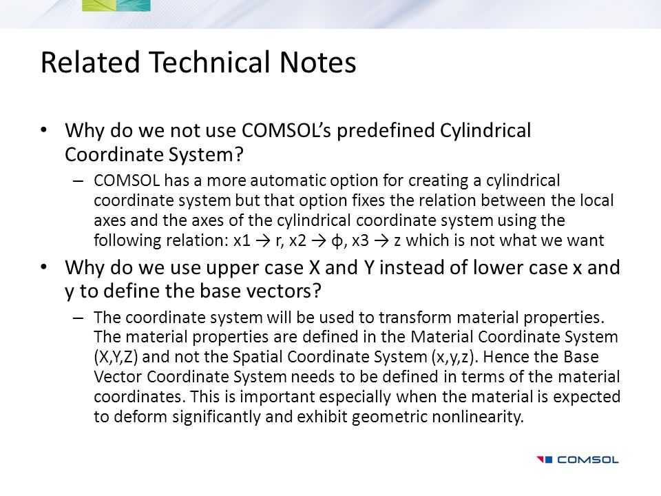 Related Technical Notes