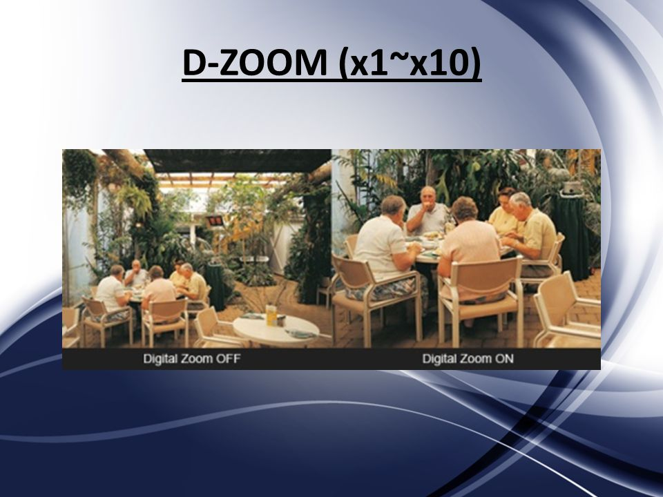 D-ZOOM (x1~x10)