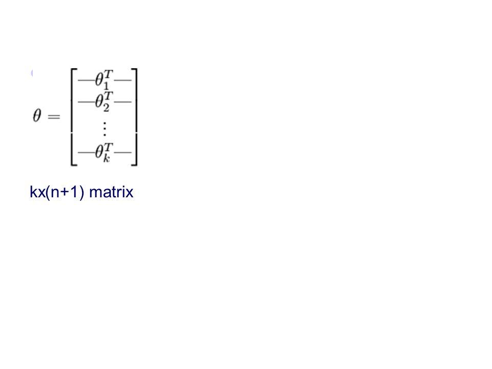 kx(n+1) matrix