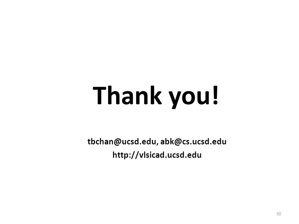 tbchan@ucsd.edu, abk@cs.ucsd.edu
