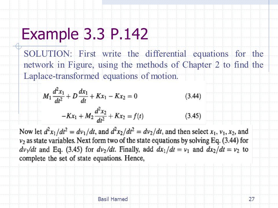 Example 3.3 P.142