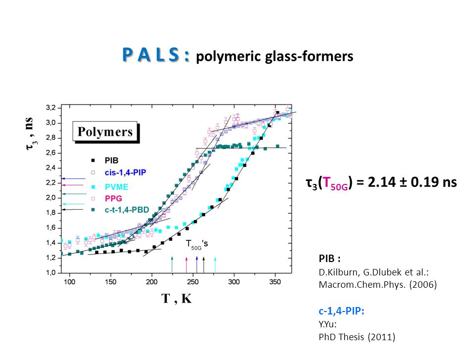 P A L S : polymeric glass-formers