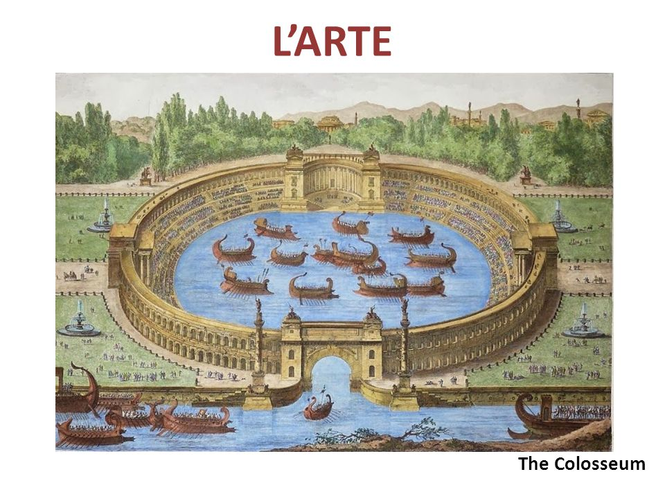 L'ARTE The Colosseum