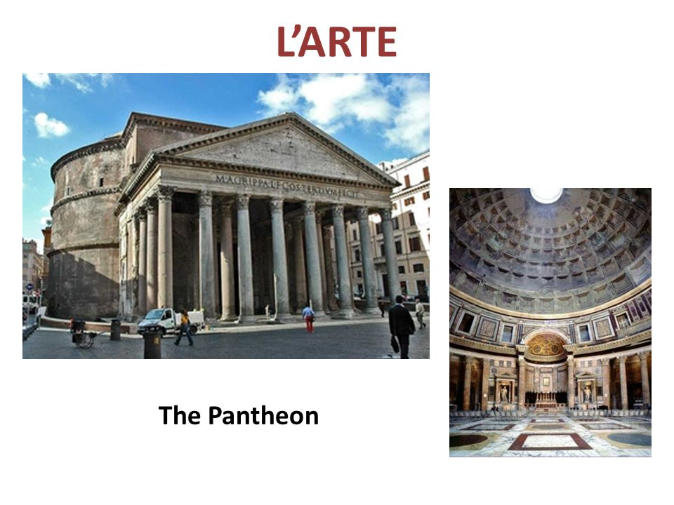 L'ARTE The Pantheon