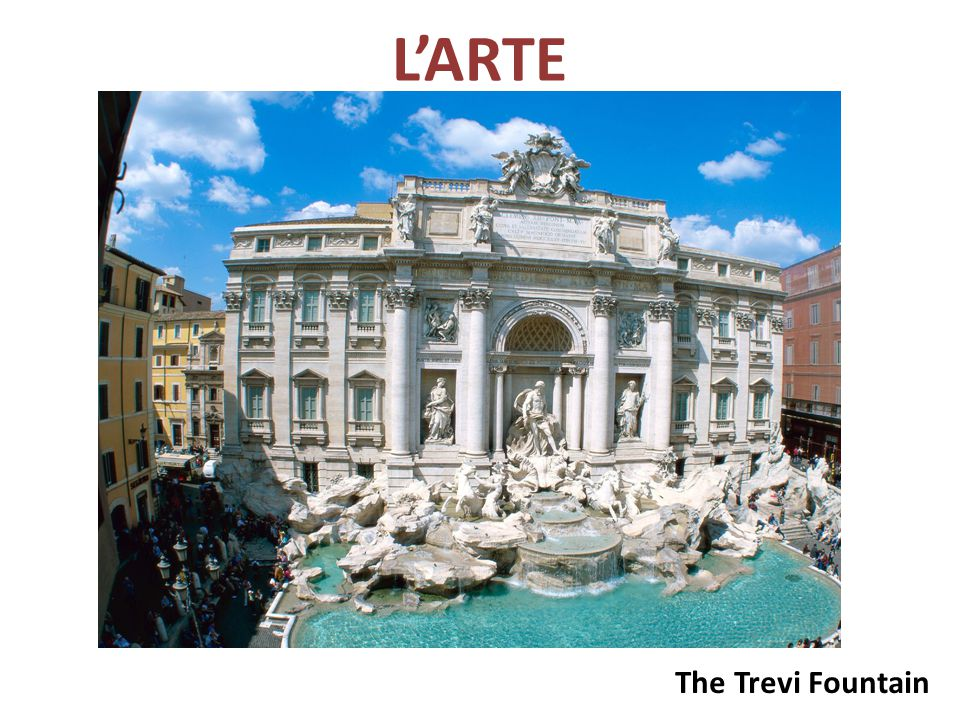 L'ARTE The Trevi Fountain