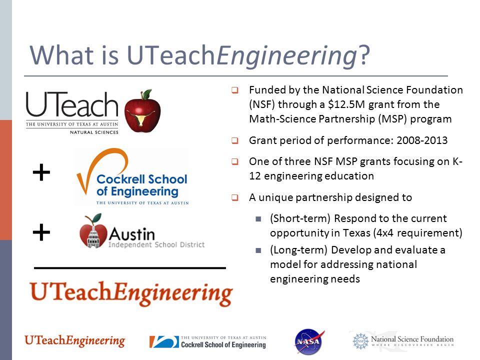 What is UTeachEngineering