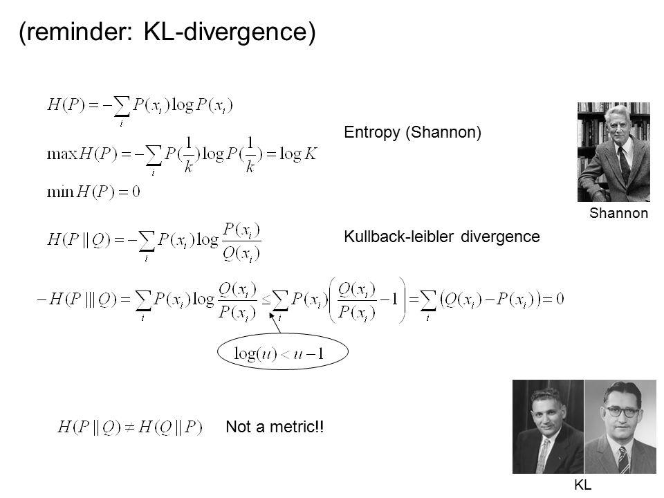 (reminder: KL-divergence)