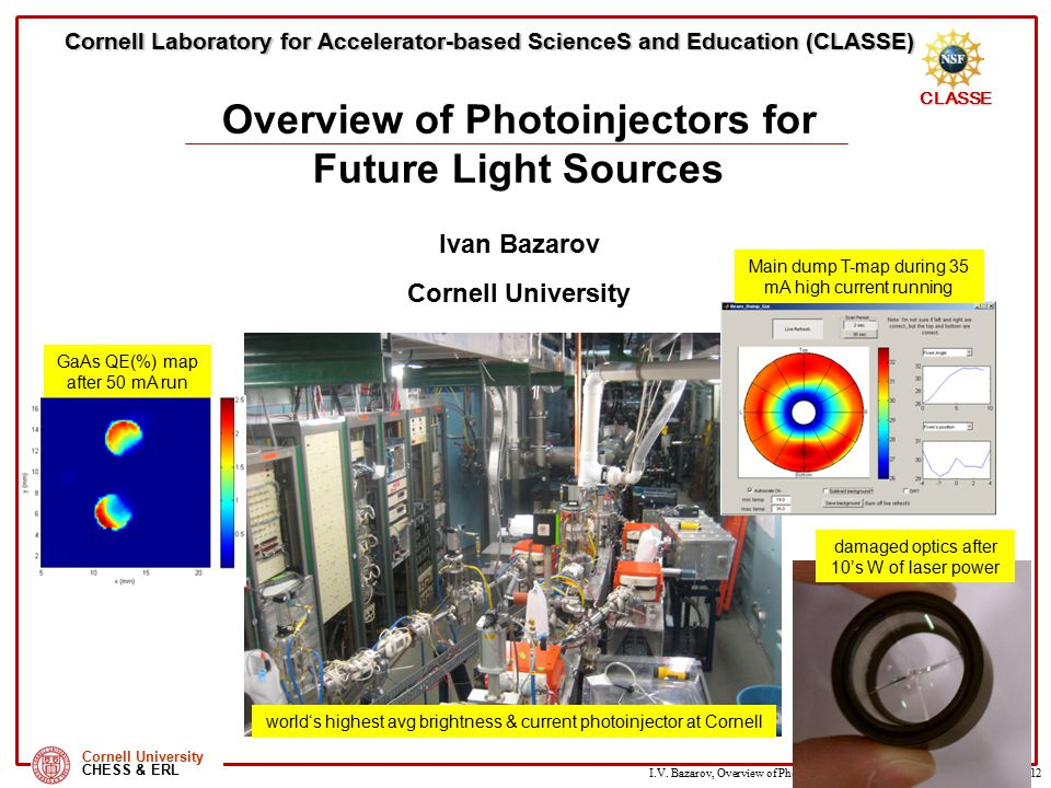 Overview of Photoinjectors for Future Light Sources