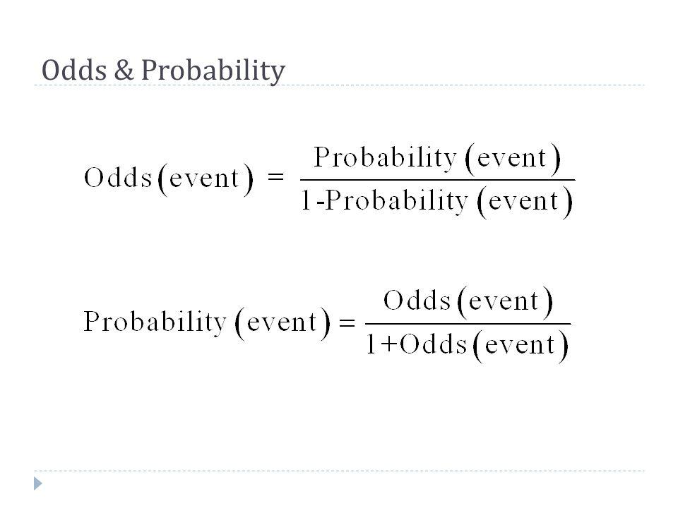 Odds & Probability