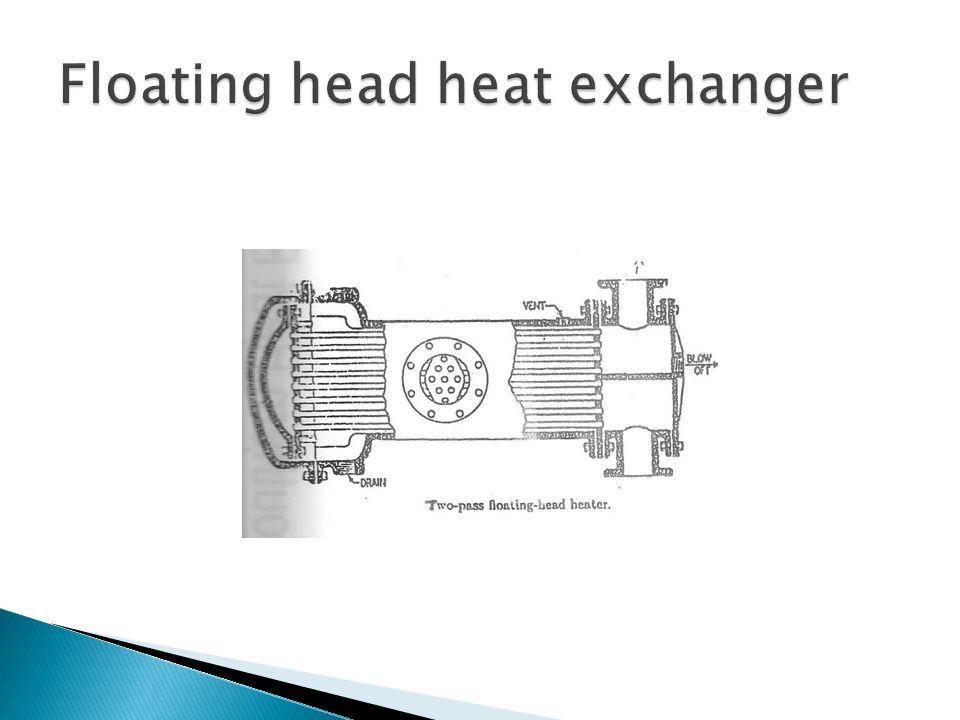 Floating head heat exchanger