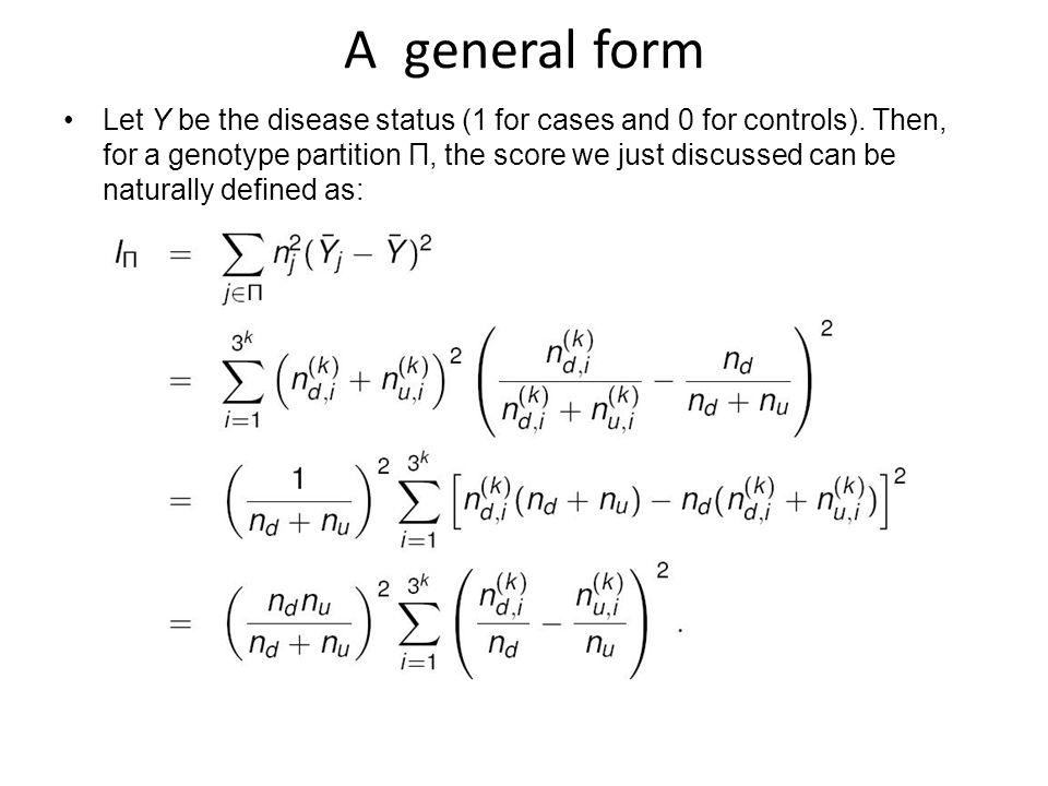 A general form