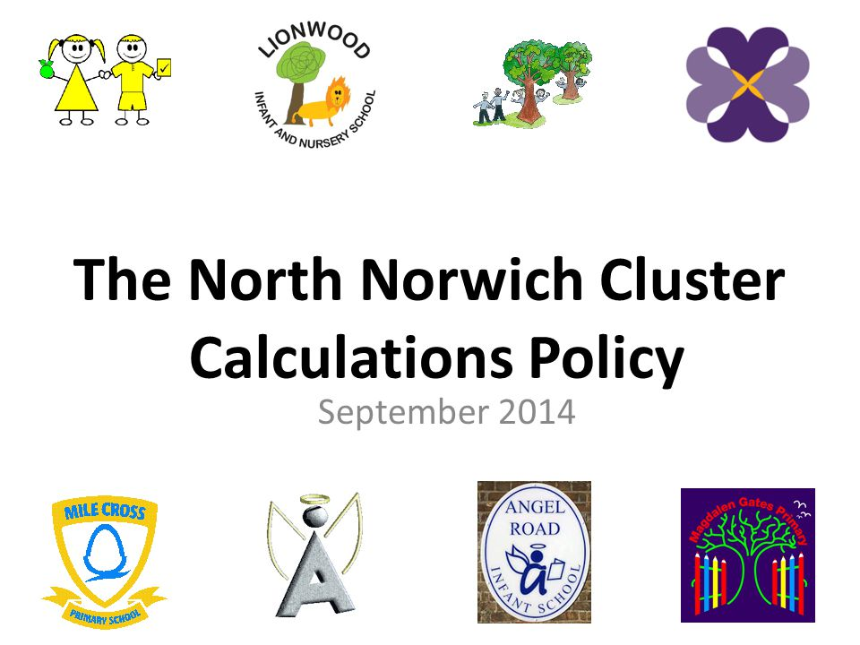 The North Norwich Cluster Calculations Policy
