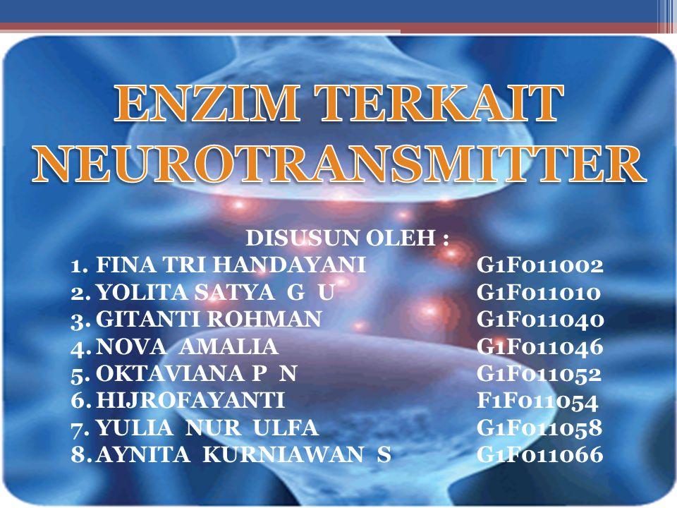 ENZIM TERKAIT NEUROTRANSMITTER
