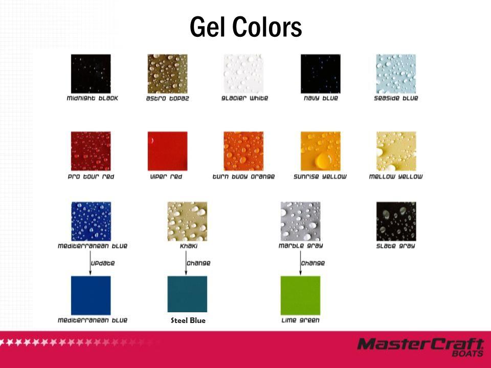 Gel Colors Steel Blue