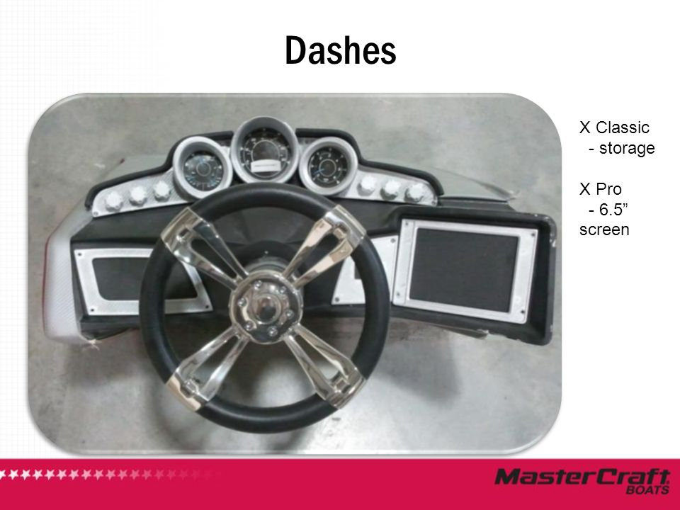 Dashes X Classic - storage X Pro - 6.5 screen
