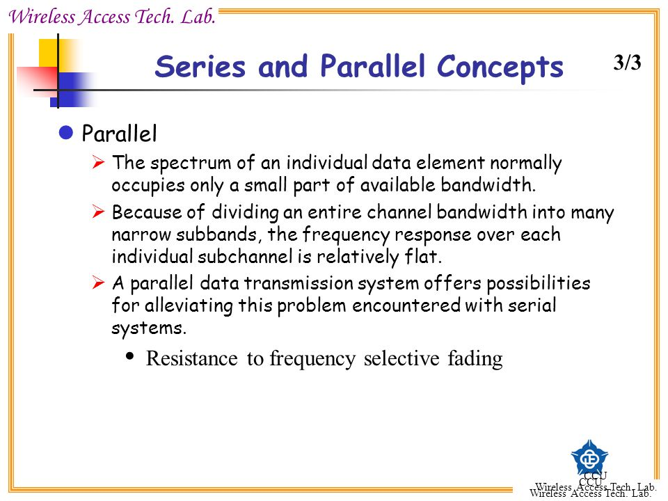 Series and Parallel Concepts